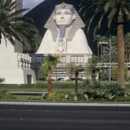 Luxor Las Vegas in Las Vegas, Navada by architect Veldon Simpson