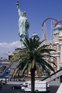 New York New York Las Vegas Hotel & Casino in Las Vegas, Navada by architect Gazkin & Bezanski