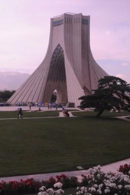 Azadi Monument in Tehran, Iran