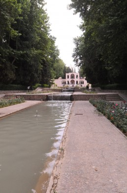 Bagh-e Shahzadeh gardens in Mahan, Iran