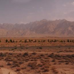 Mahan Desert in Mahan, Iran