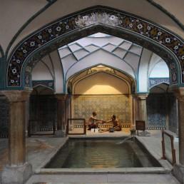 Bath House in Kerman, Iran