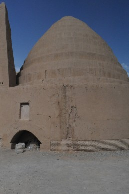 Kerman city walls in Kerman, Iran