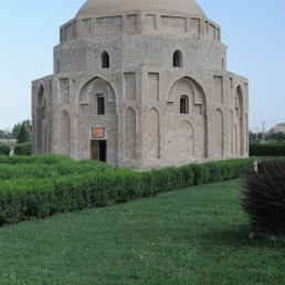 Octagonal Gonbade Jabeliah in Kerman, Iran