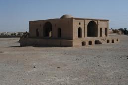 Zoroastrian burial site in Yazd, Iran