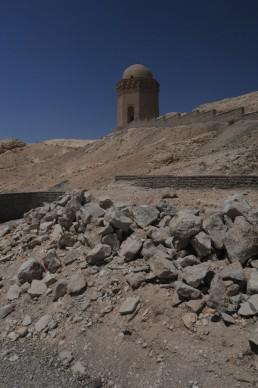 Gunbad-i Ali Shrine in Abarkuh, Iran