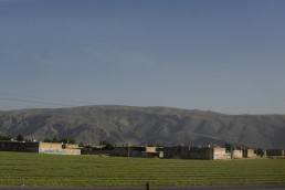 Landscape between Yazd and Shiraz in Persepolis, Iran