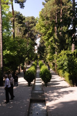 Bagh-i Eram Gardens in Shiraz, Iran