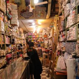Shiraz Bazaar in Shiraz, Iran