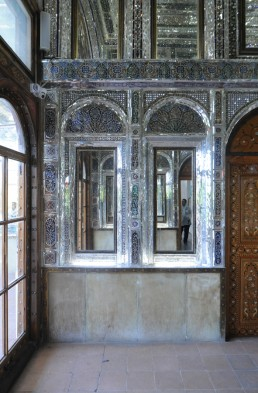Narenjestan Palace and Gardens in Shiraz, Iran