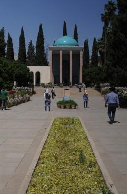 Mausoleum of Saadi in Shiraz, Iran