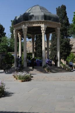 Tomb of Hafiz in Shiraz, Iran