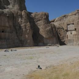Naqsh-e Rustam in Persepolis, Iran