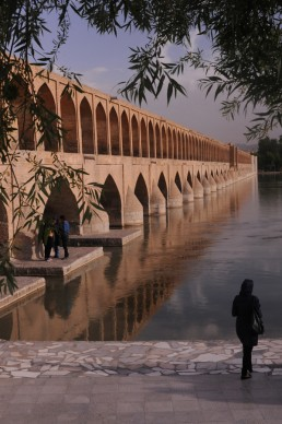 Bridge of 33 Arches in Isfahan, Iran