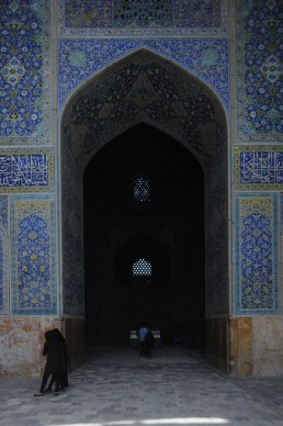 Shah Mosque in Isfahan, Iran