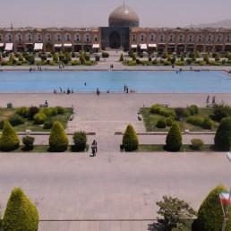 Royal Square in Isfahan, Iran