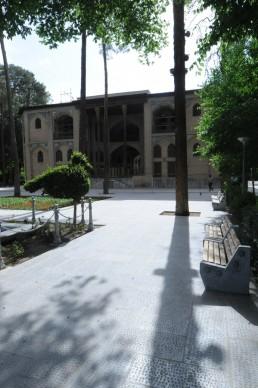 Hasht Behesht Palace in Isfahan, Iran
