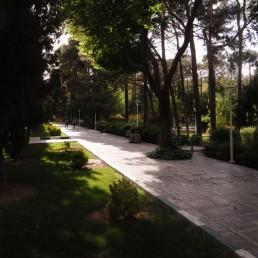 Garden in Isfahan in Isfahan, Iran