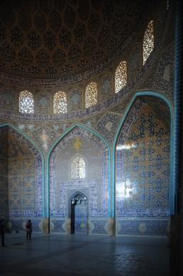 Lotfallah Mosque in Isfahan, Iran
