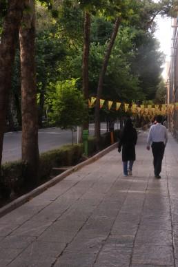 Isfahan Street Scape in Isfahan, Iran