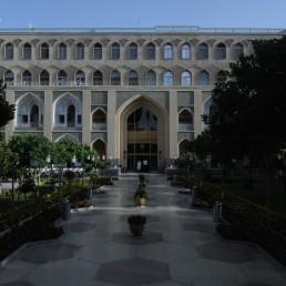 Abbasi Hotel in Isfahan, Iran by architect Andre Goddard