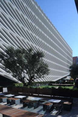 The Broad Museum in Los Angeles, California by architect Diller Scofidio & Renfro