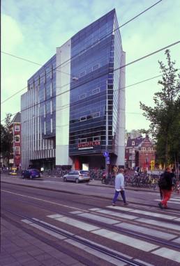 Winkelcentrum in Amsterdam, Netherlands by architects Ben van Berkel, Van Berkel & Bos