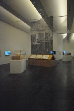 Frank Gehry exhibition at Los Angeles County Museum of Art (LACMA) in Los Angeles, California