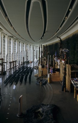Canadian Museum of History in Ottawa, Canada by architect Douglas Cardinal Architect