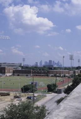 Westcott Field at Southern Methodist University in Dallas, Texas