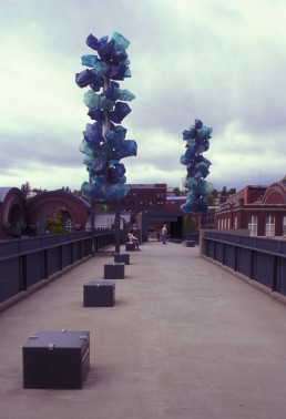 Chihuly Bridge of Glass in Tacoma, Washington by architect Andersson Wise