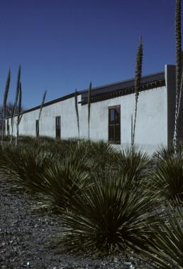 Marfa Wool and Mohair Building: Chinati Foundation in Marfa, Texas