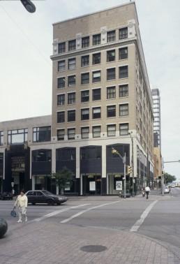 Scarbrough Building in Austin, Texas by architects Wyatt Hedrick, Edwin Kreisle