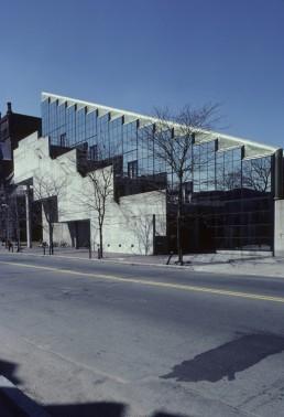 Gund Hall at Harvard University in Cambridge, Massachussetts by architect John Andrews
