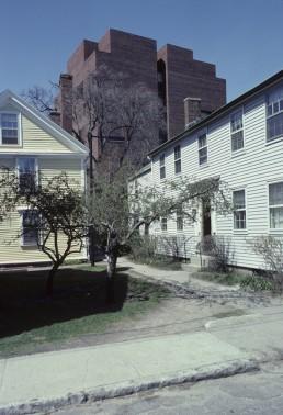 Larsen Hall at Harvard University in Cambridge, Massachussetts by architect Caudill Rowlett Scott