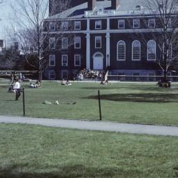 Longfellow Hall at Harvard University in Cambridge, Massachussetts by architect Perry Shaw and Hepbun