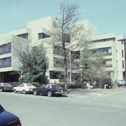 Gutman Education Library at Harvard University in Cambridge, Massachussetts by architect Benjamin Thompson Associates