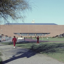 Johnson Athletic Center at MIT in Cambridge, Massachussetts by architect Davis Brody Bond
