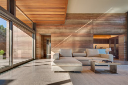 Torcasso House Santa Fe New Mexico Larry Speck Page Southerland Page Rammed Earth Walls
