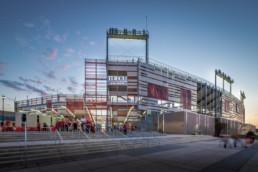 Larry Speck Page Southerland Page University of Houston Football Stadium