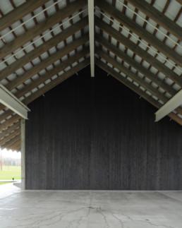 DETAIL EXTERIOR Herzog de Meuron Parrish Museum Long Island Hamptons NY