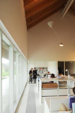 INTERIOR OFFICE LOBBY SERVICE Herzog de Meuron Parrish Museum Long Island Hamptons NY