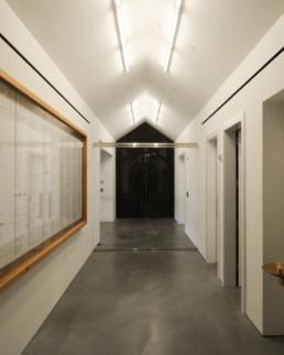HALLWAY SERVICE Herzog de Meuron Parrish Museum Long Island Hamptons NY