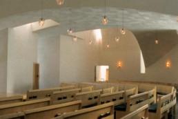 Stephen Holl St Ignatius Chapel Seattle Washington Interior