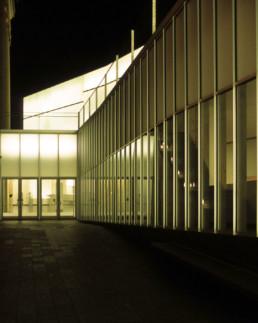 Nelson Atkins Museum Expansion Kansas City EXTERIOR NIGHT