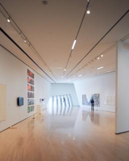 Zaha Hadid Eli Edith Broad Art Museum INTERIOR