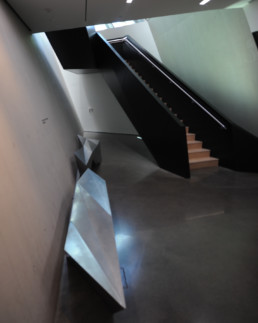 Zaha Hadid Eli Edith Broad Art Museum INTERIOR