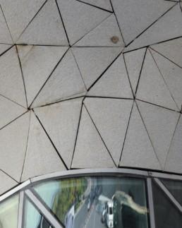 Larry Speck UTSOA Zaha Hadid Guangzhou Opera House China Exterior Detail