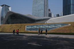 Larry Speck UTSOA Zaha Hadid Guangzhou Opera House China Exterior