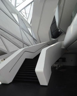 Larry Speck UTSOA Zaha Hadid Guangzhou Opera House China INTERIOR